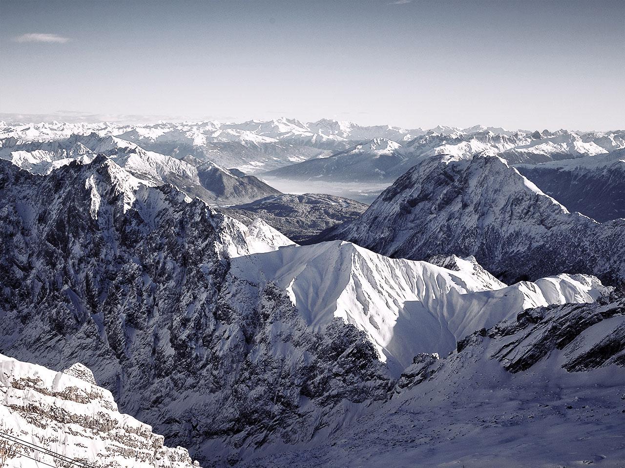 Zugspitze Germany Deutschland Mountains