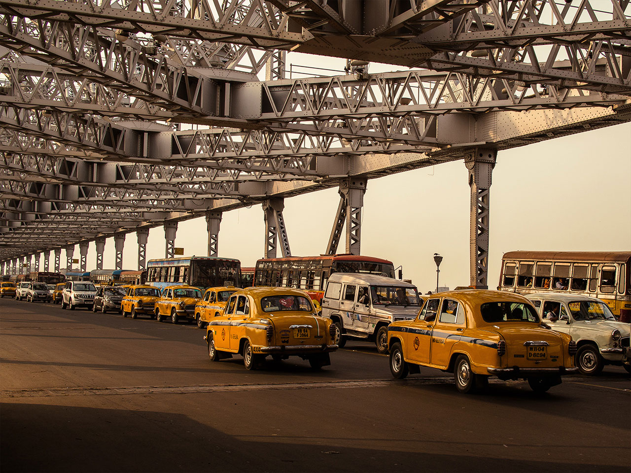 Kolkata Traffic Bridge