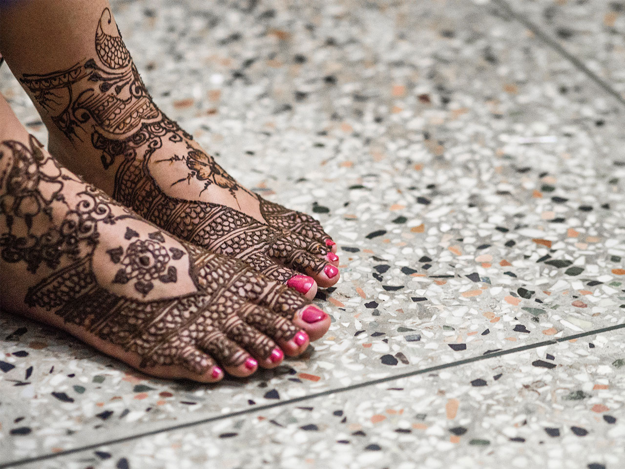 India Hindu Wedding Henna
